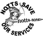 Notts Save Our Services logo