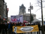 Anti university fees demo in Nottingham 4th dec 2010