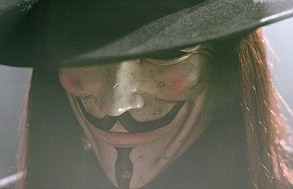 V for Vendetta's Guy Fawkes